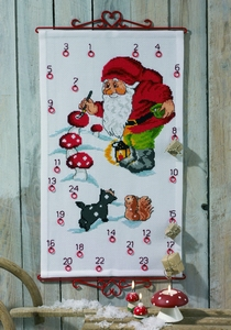 Adventskalender met kabouters