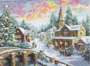 Kerststadje