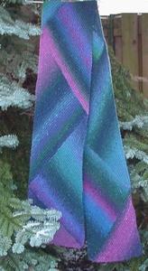 Sjaal in kleurvlakken