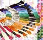 Anker mouline uni kleuren
