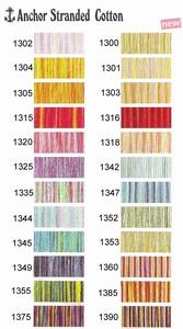 Anker mouline multicolor