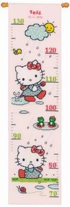 Meetlat Hello Kitty in de regen