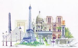 Parijs met notre dame