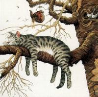 Katje in de boom