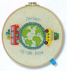 Boys reis rond de wereld