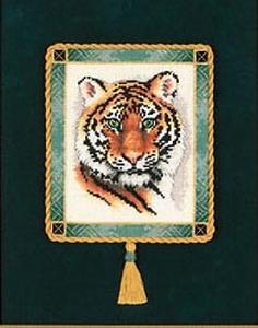 Portret van de tijger